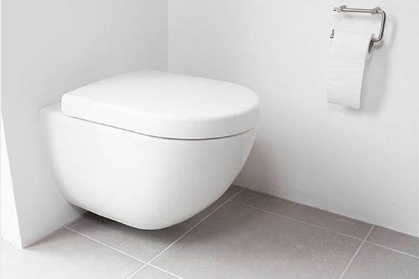 vvs sønderborg badeværelse væghængt toilet